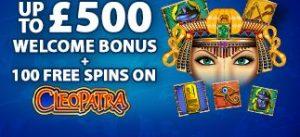 £500 Welcome Bonus