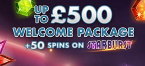 £500 Welcome Bonus