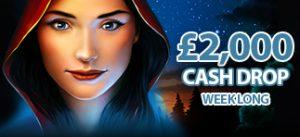 Cash Drop 200 x £10 Gypsy Moon Theme