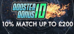 10% Booster Bonus