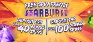 Free Spin Frenzy Starburst